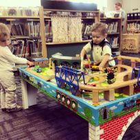 train table play
