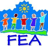 FEA logo with children