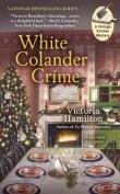 white colander