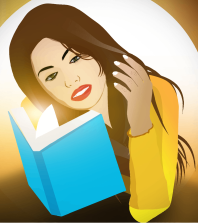 Female-Reading-Book
