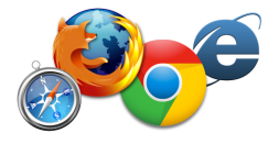 four-browser-icons