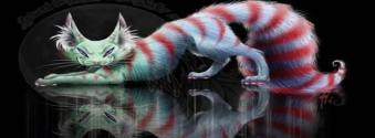 stylized Cheshire Cat