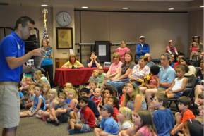 Nature Nick program at Cheshire Public Library
