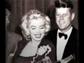 Marilyn Monroe with John F. Kennedy