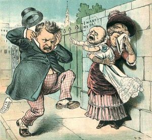 Grover Cleveland political cartoon