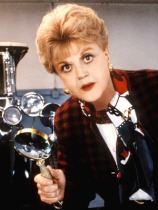 Angela Lansbury in Murder She Wrote